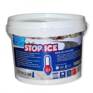 Produs biodegradabil pentru deszapezire, prevenire/ combatere gheata, dezghetare rapida (STOP ICE) - 2.5kg