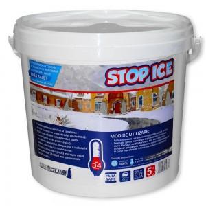 Produs biodegradabil pentru deszapezire, prevenire/ combatere gheata, dezghetare rapida (STOP ICE) - 5kg
