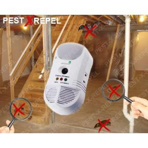 Aparat impotriva soarecilor, gandacilor, furnicilor, purificator de aer (PestMaster 5in1) - 450 mp