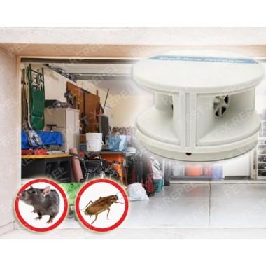 Aparat cu ultrasunete impotriva rozatoarelor si a insectelor (Attack Wave Pestrepeller) - 450 mp
