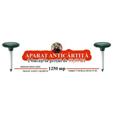 Aparate Pestmaster AG625 pentru combaterea cartitelor, soarecilor de camp, dihorilor si altor animale (OFERTA: 2 bucati 99.99RON)