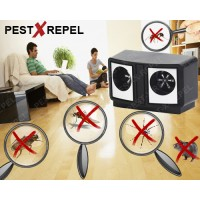 Aparat cu ultrasunete Dual Pest Repeller (PestMaster) - 200 mp