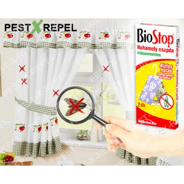 Capcana cu feromoni anti molii textile (Biostop)