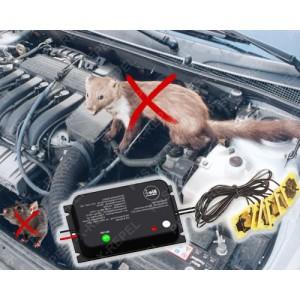 Aparat cu ultrasunete pentru protectia masinii impotriva rozatoarelor (Biometrixx M2)