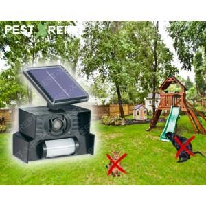 Aparat solar anti caini-pisici cu senzor de miscare (Conrad) - 30 mp