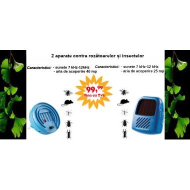 Promotie: 2 aparate anti insecte, anti soareci