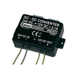 Convertor de tensiune 24V-12V (Kemo M020)