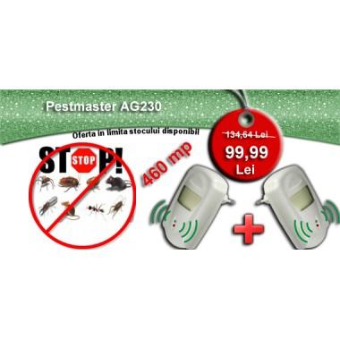 2 aparate cu unde electromagnetice antiinsecte, antirozatoare