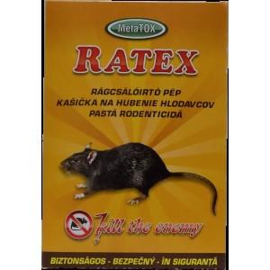 Atractant raticid pentru rozatoare Ratex pasta 400gr.
