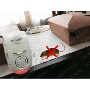 Aparat cu unde electromagnetice si ultrasunete impotriva rozatoarelor si a insectelor (Pestmaster ZN1002) - 150 mp